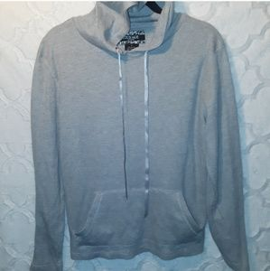 Courage Clothing Co. Hoodie Sweatshirt Gray Small